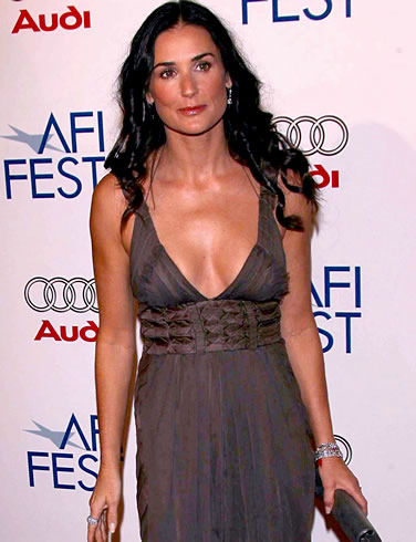 Demi moore see through
